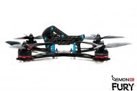 DemonRC Fury - Racing Acro FPV Frame Ultra light Quadcopter 4d