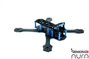 DemonRC Aura - Professional Freestyle FPV Quad best balance lightweight 8
