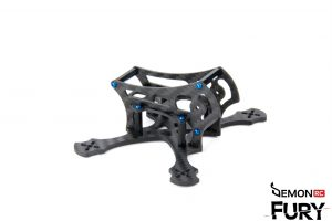DemonRC Fury 2X - Racing Acro FPV Frame Ultra light Quadcopter 6