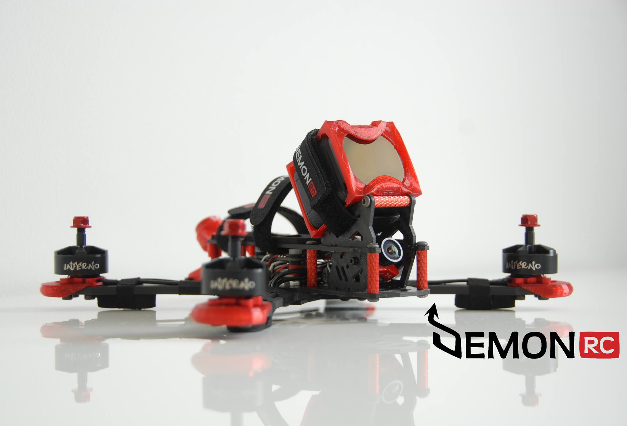 DRC BLAZE PROMO PIC FPV Freestyle Professional Frame