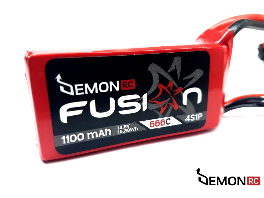 DemonRC Fusion Lipo Battery 1100 mah 4S